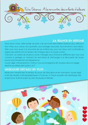 A LA RENCONTRE DES ENFANTS D'AILLEURS